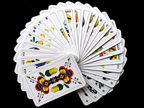 mazzo di carte usato per tarocchi